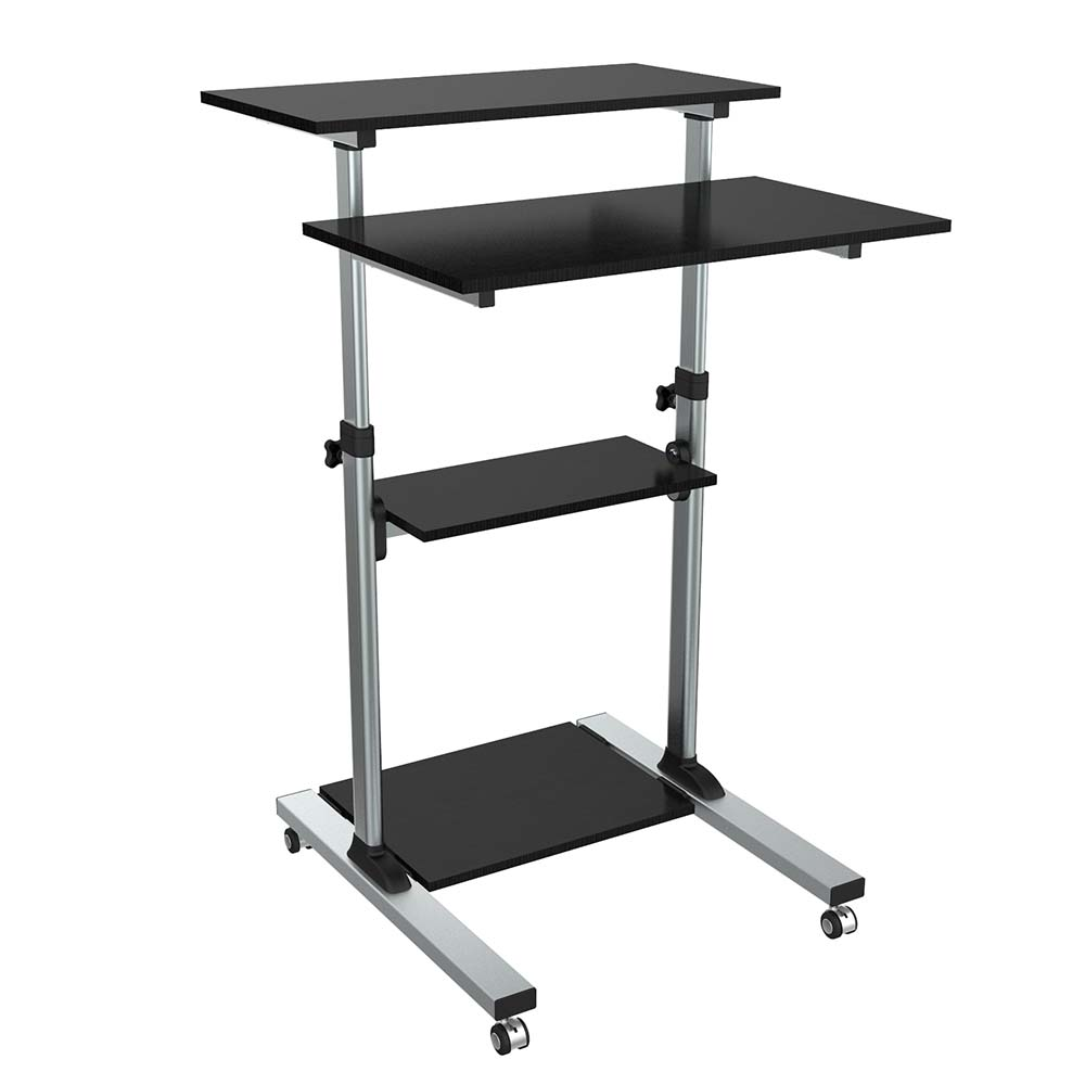 Height Adjustable Computer Table