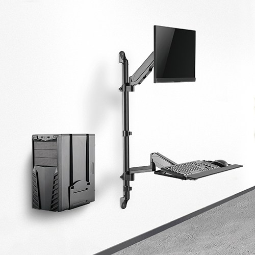 wall mount workstation