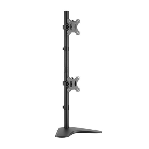 dual monitor stand vertical