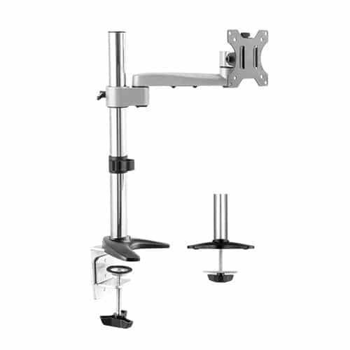 aluminium single monitor arm