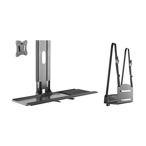 sit stand computer workstation