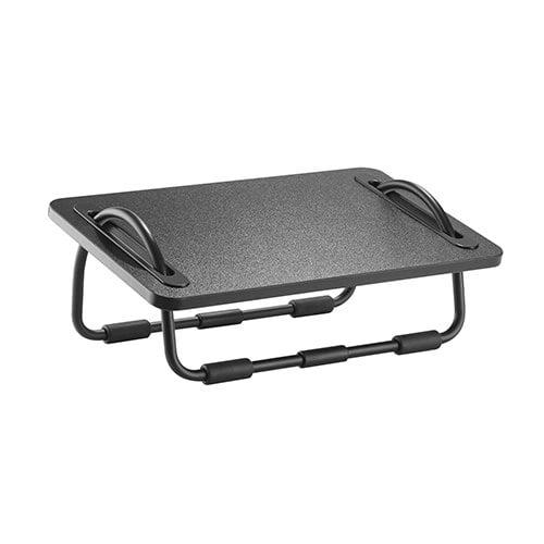 tiltable sliding footrest
