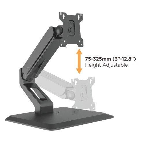 single monitor heavy duty mount