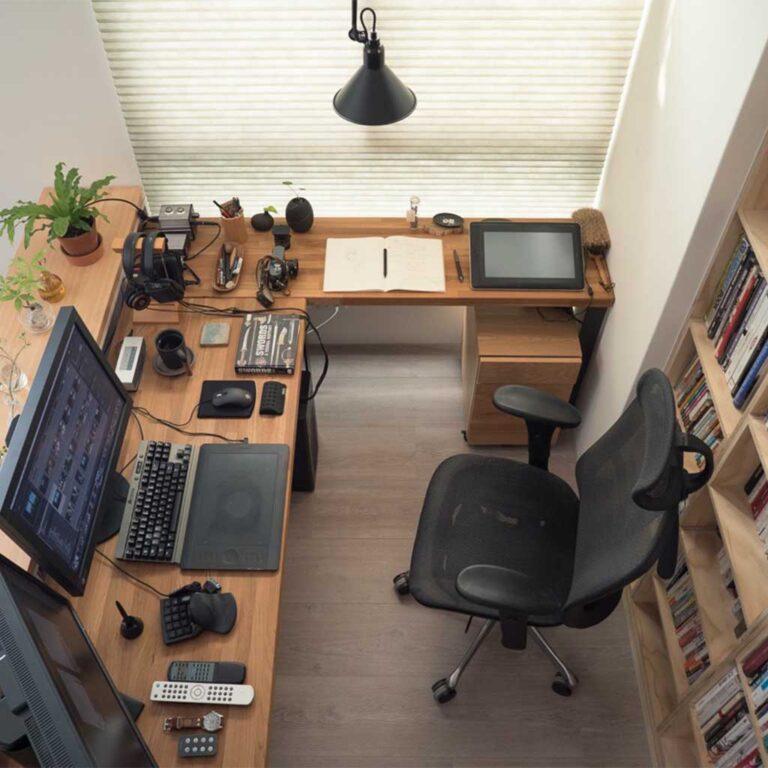 Stylish workstation Home Office Setup