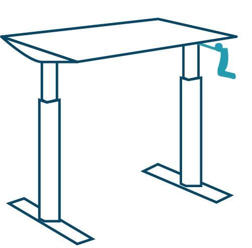 manual desk