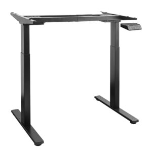 2 stage electric height adjustable desk